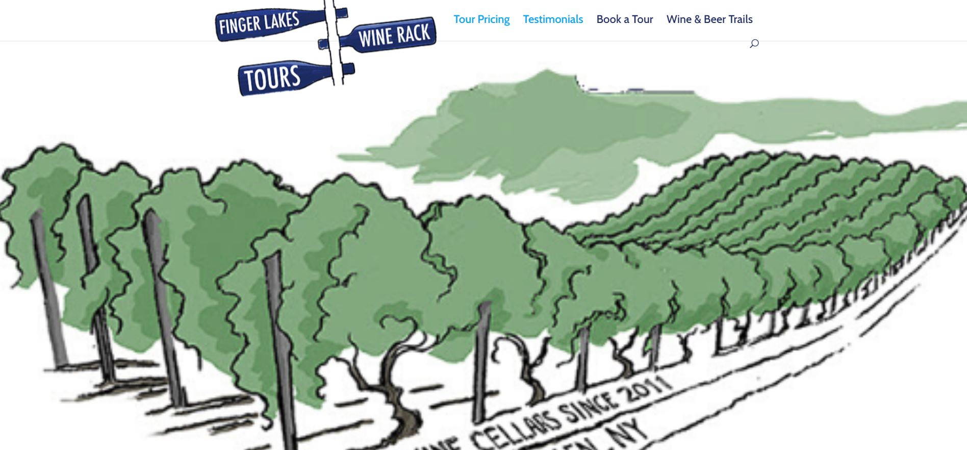 fingerlakes wine rack tours