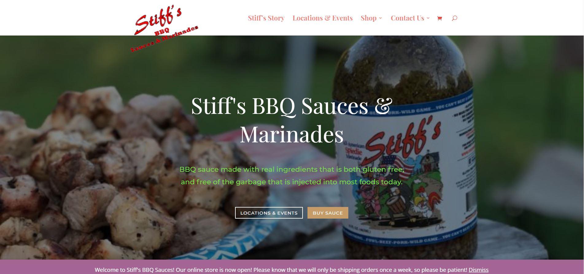 stiffs bbq sauces and marinades